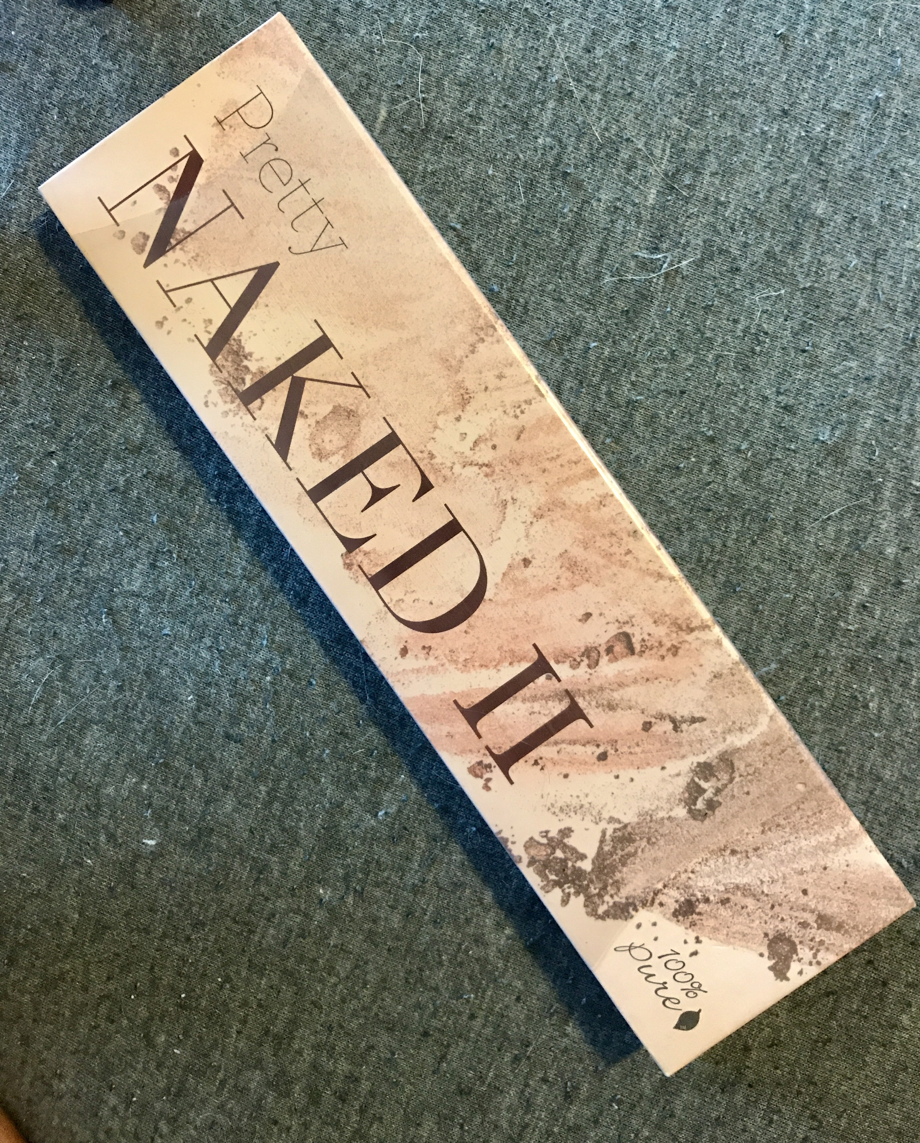 100% Pure Naked II Palette- sealed