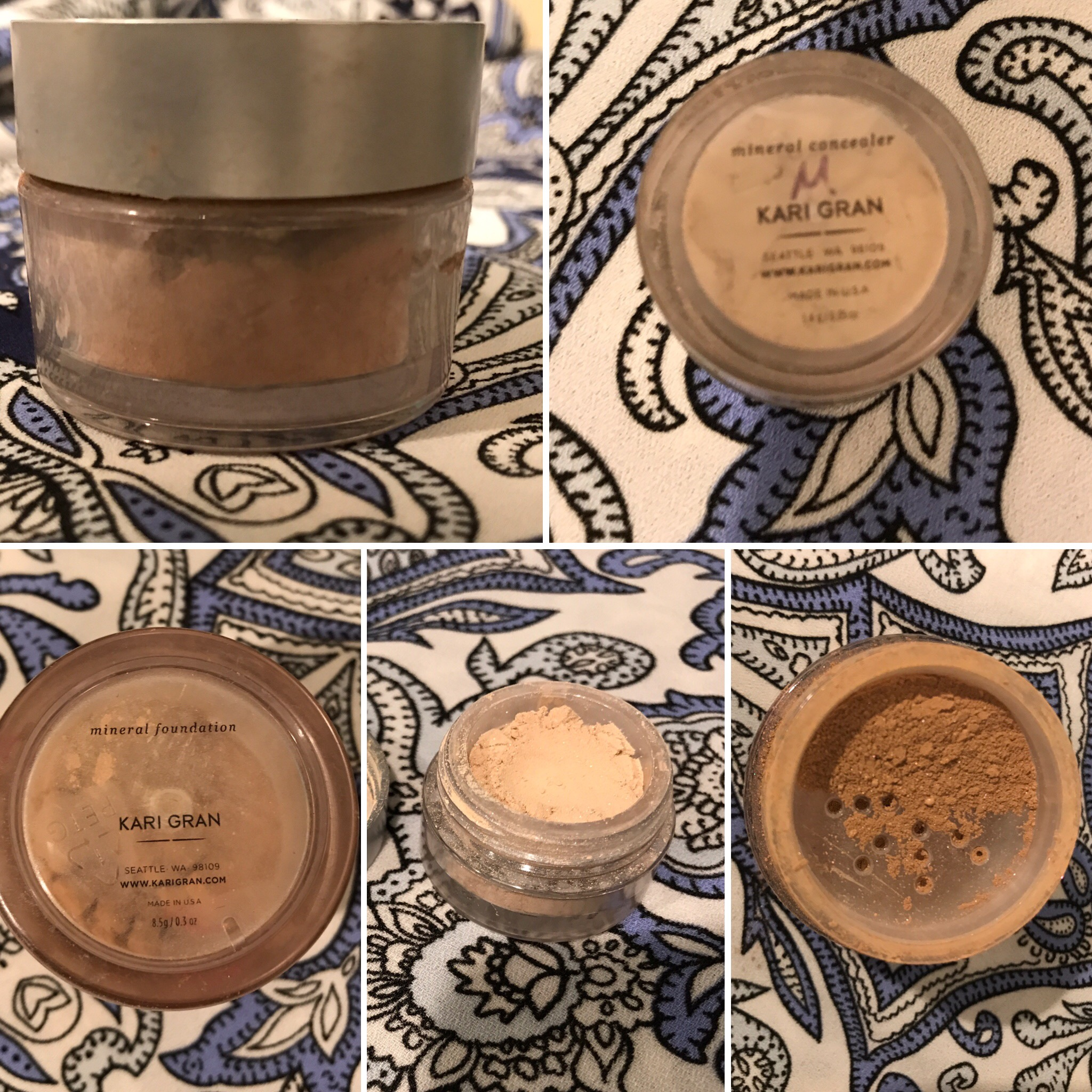 Kari Gran foundation and concealer