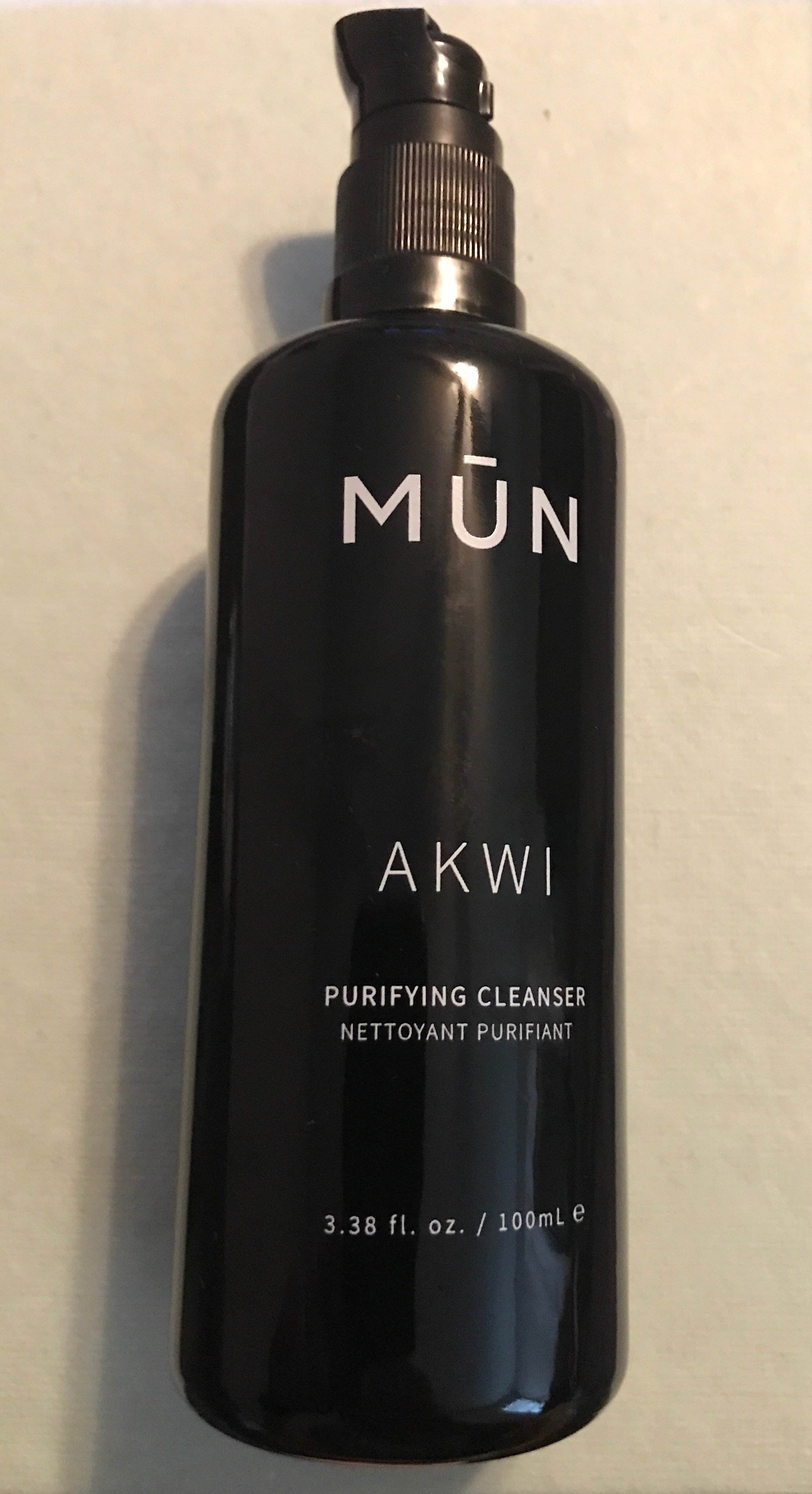 New MUN Akwi Purifying Cleanser