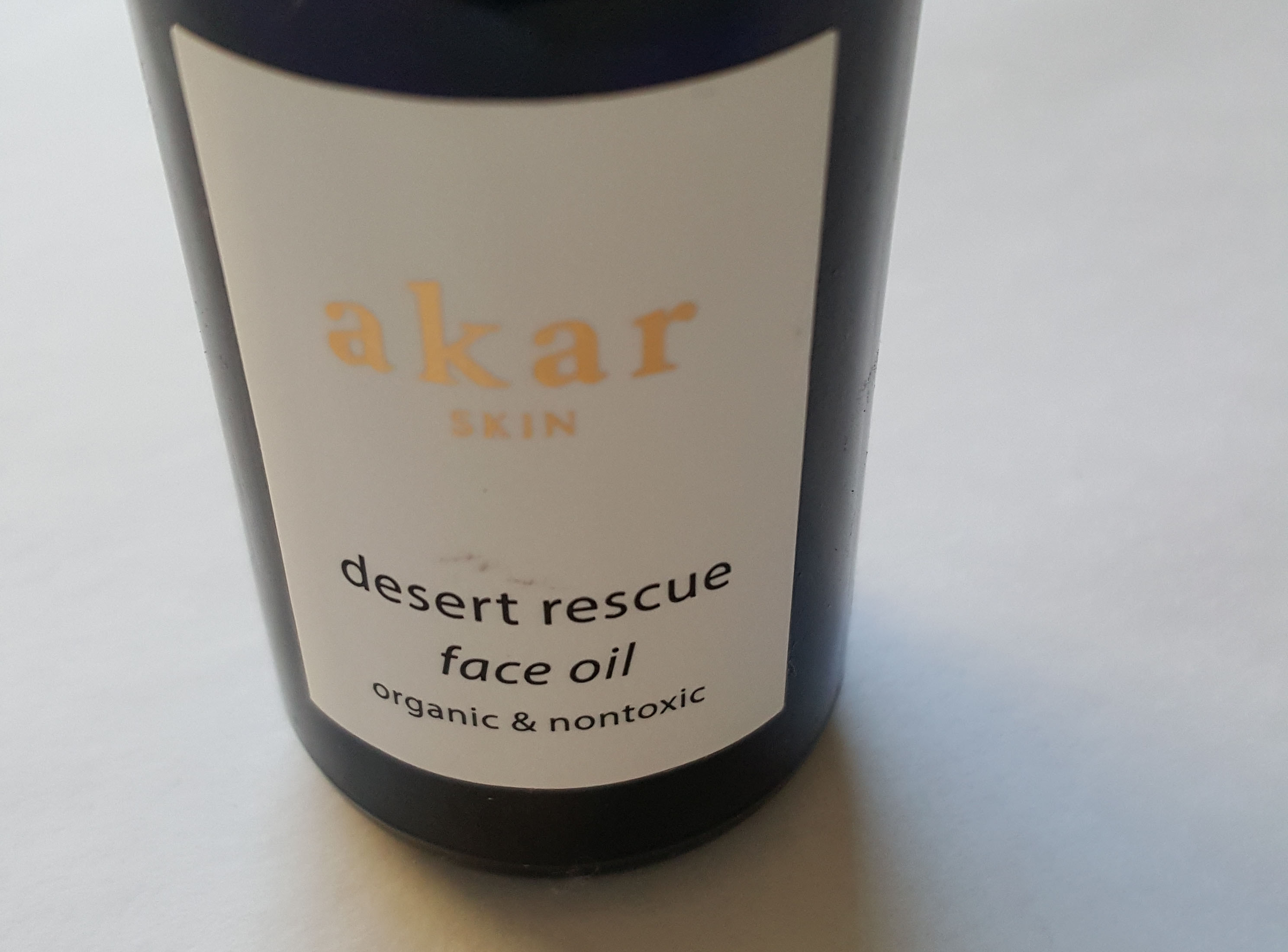 Akar Skin Desert Rescue Face Oil – Gently USED