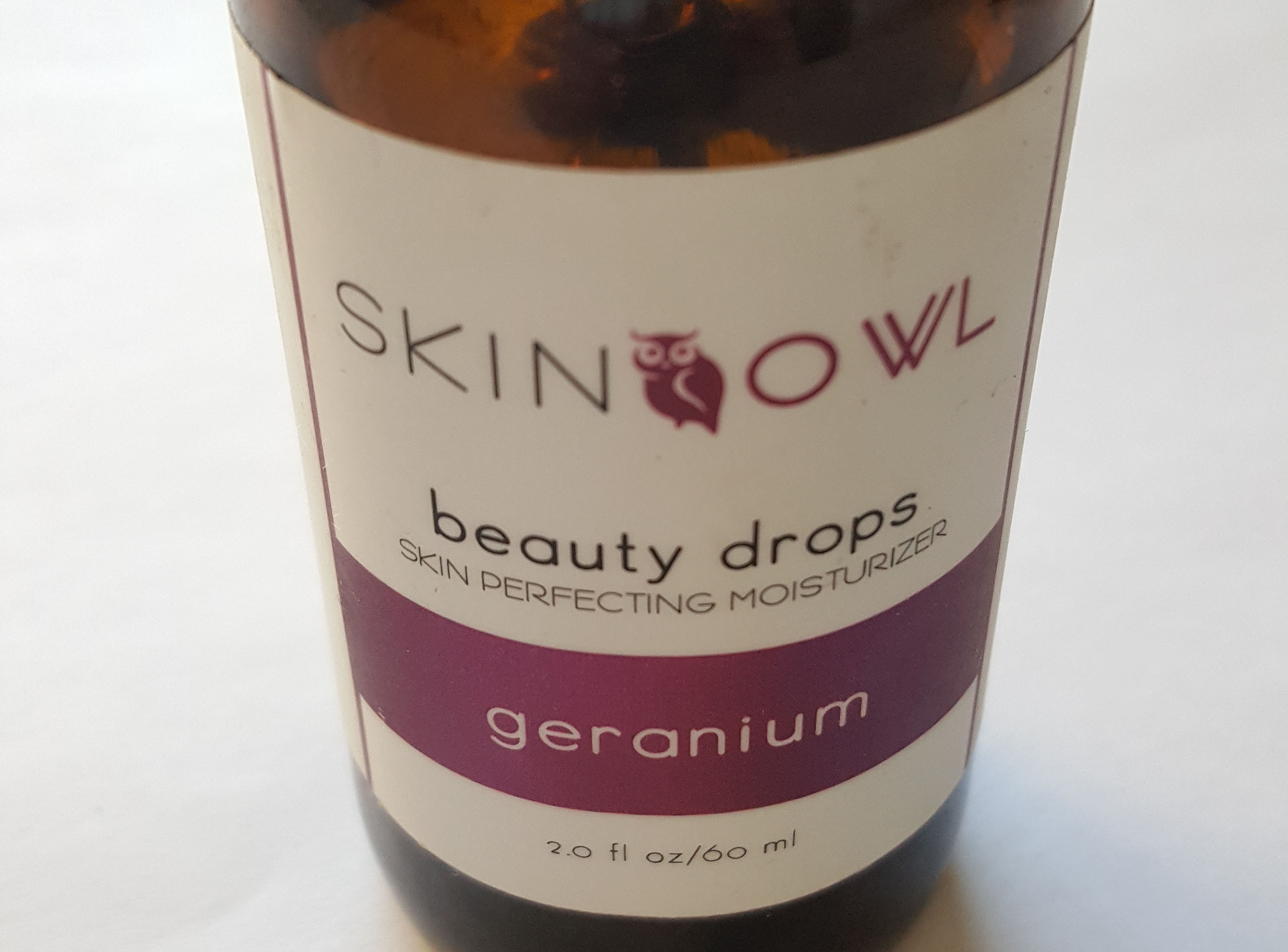 SkinOwl Geranium Beauty Drops – USED