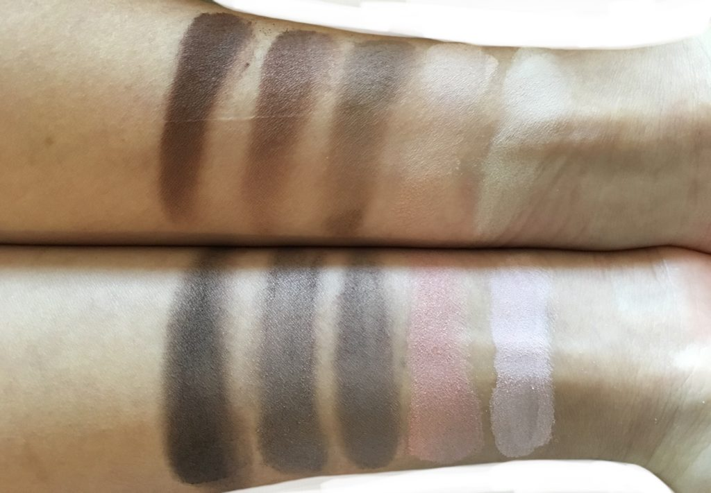 w3ll people nudist eyeshadow palette swatches