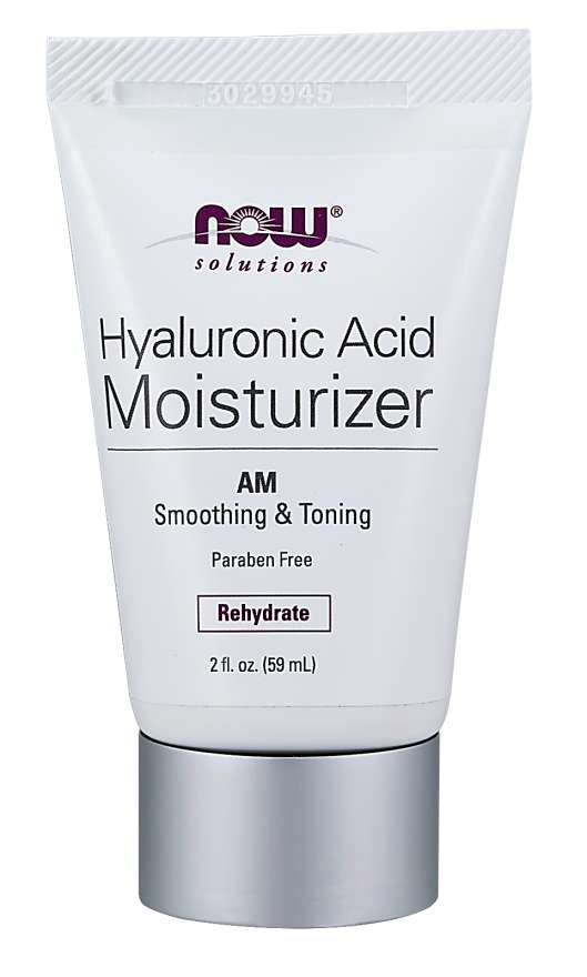 now foods solutions hyaluronic acid moisturizer